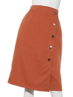 ランダムボタンタイトスカート