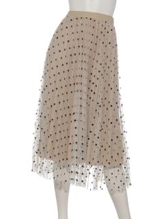 ドットXベロアリバーシブルスカート