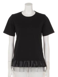 Entrechat裾フリルTシャツ