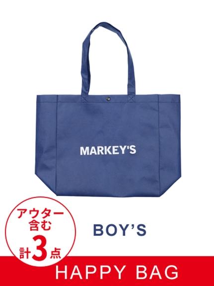 MARKEY'S (マーキーズ) 男の子用HAPPYBAG カーキ(アウターのカラー)