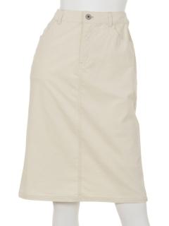 コーデュロイストレッチタイトスカート