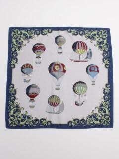 気球柄スカーフ