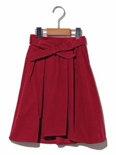 【100~130cm】21Wサッシュベルトツキミディタケスカート