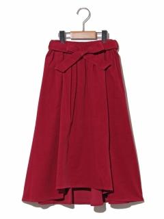 【140~150cm】21Wサッシュベルトツキミディタケスカート