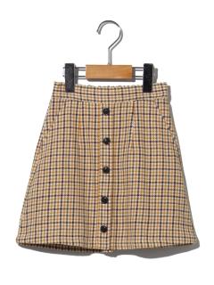 【100~130cm】ガンクラブチェックダイケイスカート