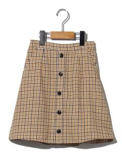 【140~150cm】ガンクラブチェックダイケイスカート