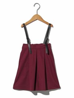 【100~130cm】ゴウヒサスペンダーツキミディタケスカート