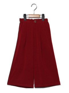 【100~130cm】カラーワイドパンツ