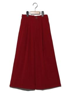 【140~150cm】カラーワイドパンツ