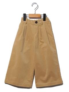 【100~130cm】コーデュロイワイドパンツ