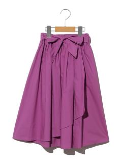 【140~150cm】ウェストリボンラップスカート