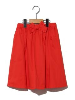 【140~150cm】ウェストリボンカラースカート