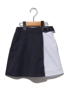 【100~120cm】ミックスストライプスカート