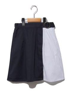 【140~150cm】ミックスストライプスカート