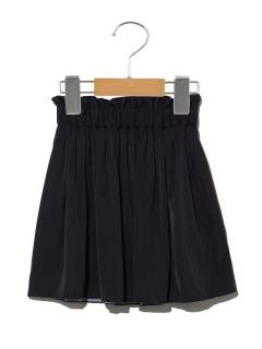 【100~110cm】リバーシブルギャザースカート
