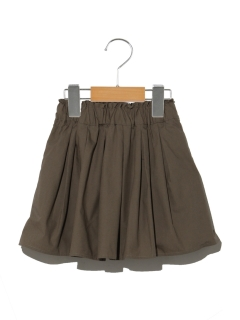 【100cm】インナーパンツツキカラーギャザースカート