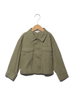 【100~120cm】ミリタリーシャツジャケット