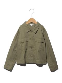 【140cm】ミリタリーシャツジャケット