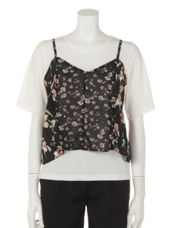 Jパッチワークキャミ+Tシャツ