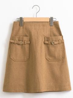 ポケットベルトスカート