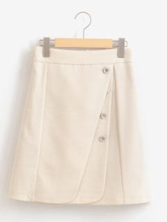 ダブルラップスカート
