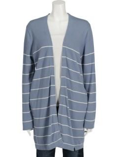 //Stripe Knit Cardigant