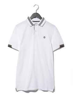 AF SS Pique Solid Polo White