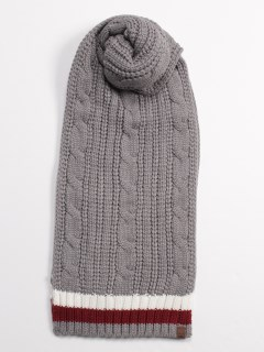 Cable Premium Knit Scarf LIGHT
