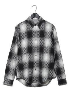 AF LS B-R Ombre shirt BLACK YD