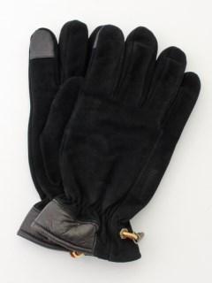 Nubuck Glove W Touch Tips BLAC