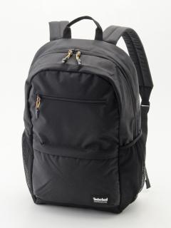 Zip Top Backpack BLACK