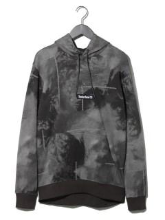 Refl p/o hoodie WEATHER PRINT