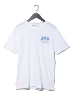 AF SS Back Graphic Te WHITE
