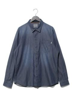 AF LS Denim Shirt MID WASH