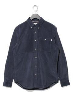 AF LS Corduroy reg shirt DARK