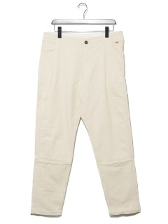 Corduroy rel Tapered P WHITE S