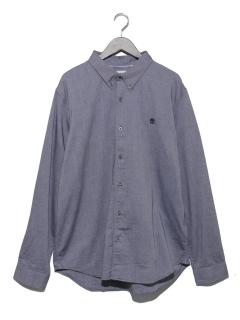 AF LS BD Oxford Shirt Slm Dark