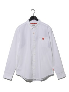 AF LS Oxf commuter shirt WHITE