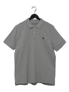 AF SS M-R Piq Polo reg MED GRY