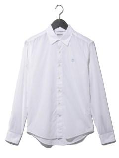 //AF LS E-R Pop solid shirt WHIT