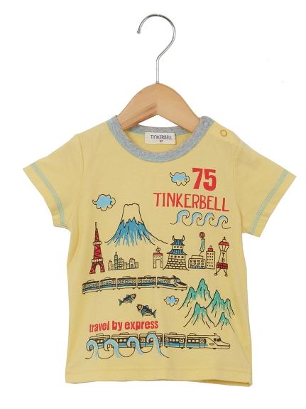 50%OFF Tinkerbell (ティンカーベル) 30/-天竺TH キイロ