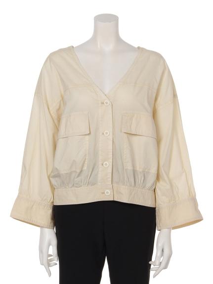 75%OFF w closet (ダブルクローゼット) 60製品ピグメントVシャツ羽 キナリ