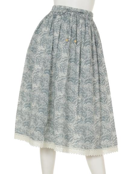 FANAKA (ファナカ) ギャザースカート ブルー