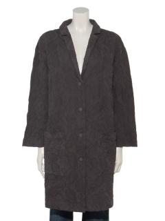 ペイズリー刺繍衿付きジャケット
