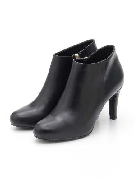 30%OFF RANDA (ランダ) 【晴雨兼用/ストレスフリー】ベーシックショートブーツ BLACK