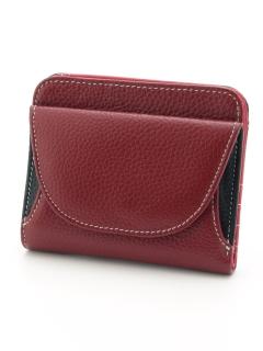 牛革短財布
