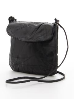 羊革パッチワークショルダーバッグ