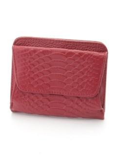 蛇型押し折財布