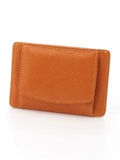 スリム小銭入れ付きパスケース