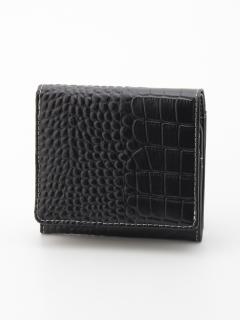 牛革折財布